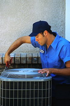 Air Conditioning Repair Service Technician